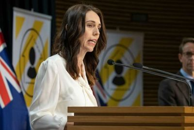 Jacinda Ardern Strongly Encourages Kiwis Wear Face Coverings