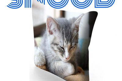Puuuurfect gift idea! SNOOD Photo Cushion Covers!
